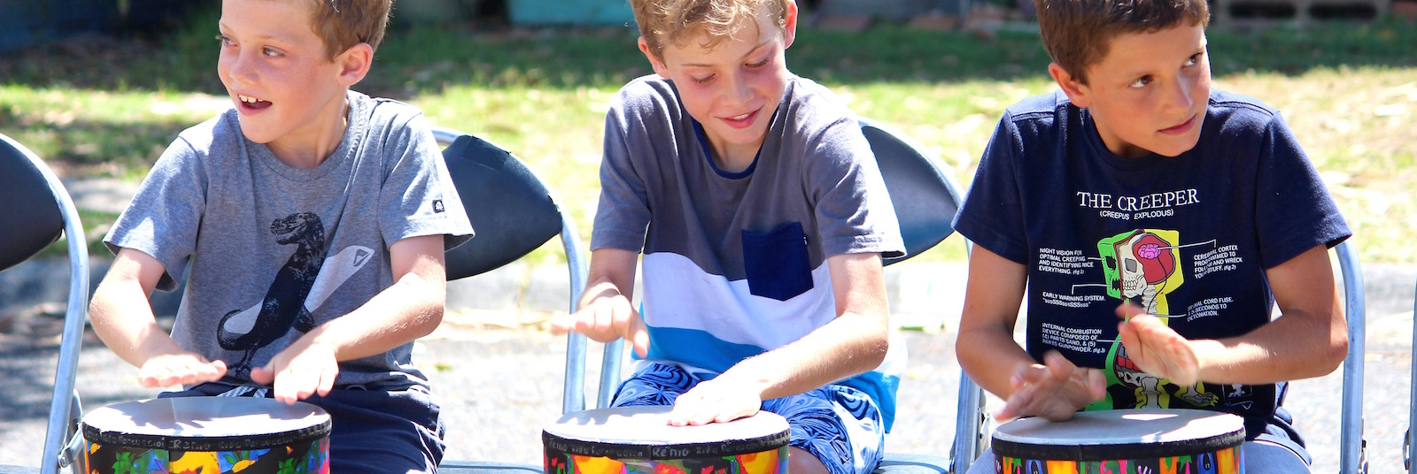 Drumming for Vacation Care